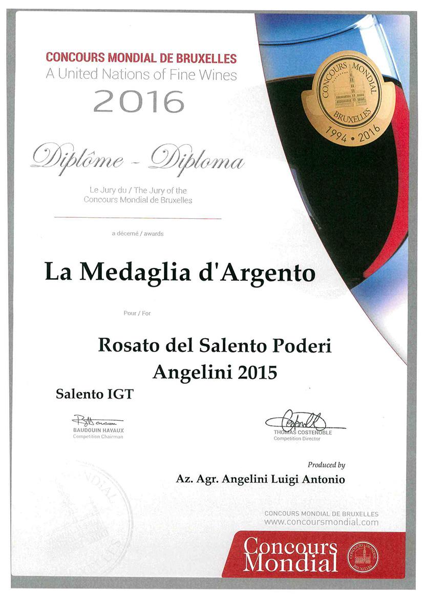 3Diploma-Medaglia-Argento-Rosato2015